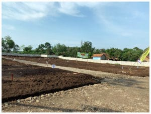 Foto lokasi jual tanah Kavling murah Serang griya sukajaya masuk tampak kiri