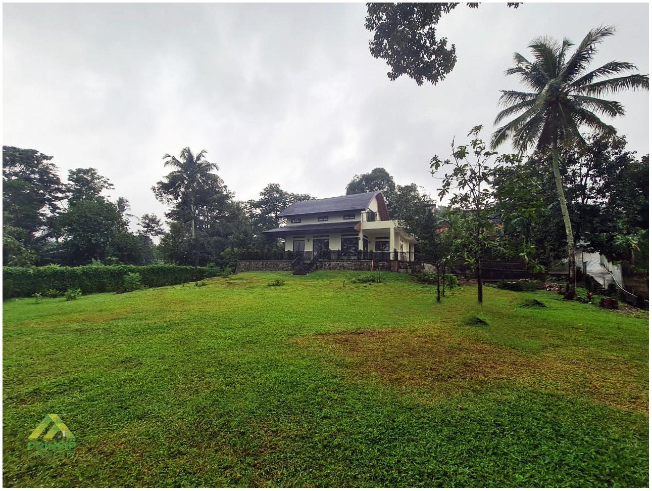 Rumah Gadog dijual - Pojok halaman